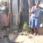 SHE WAS STUCK IN A SEWERAGE DRAIN