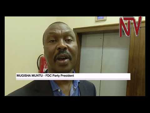 FDC opposition leader Mugisha Muntu set to resume campaigns