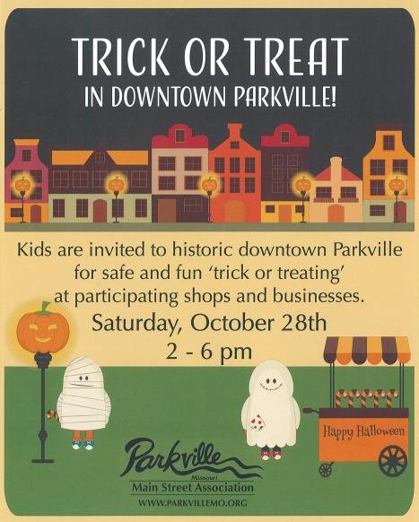 test Twitter Media - Save the date! Downtown Parkville Trick or Treat will be Saturday, October 28 from 2-6 p.m. https://t.co/Qt4oNg2w9k