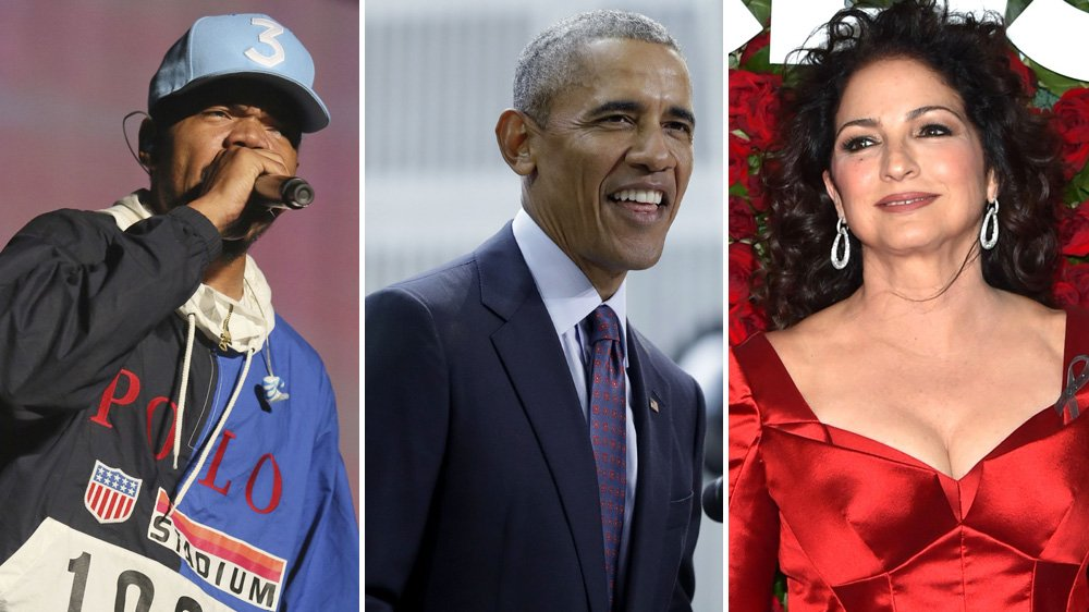 Chance the Rapper, @GloriaEstefan to perform at @ObamaFoundation Chicago concert https://t.co/c2SBGB8Wi9 https://t.co/4e6e23jXdH
