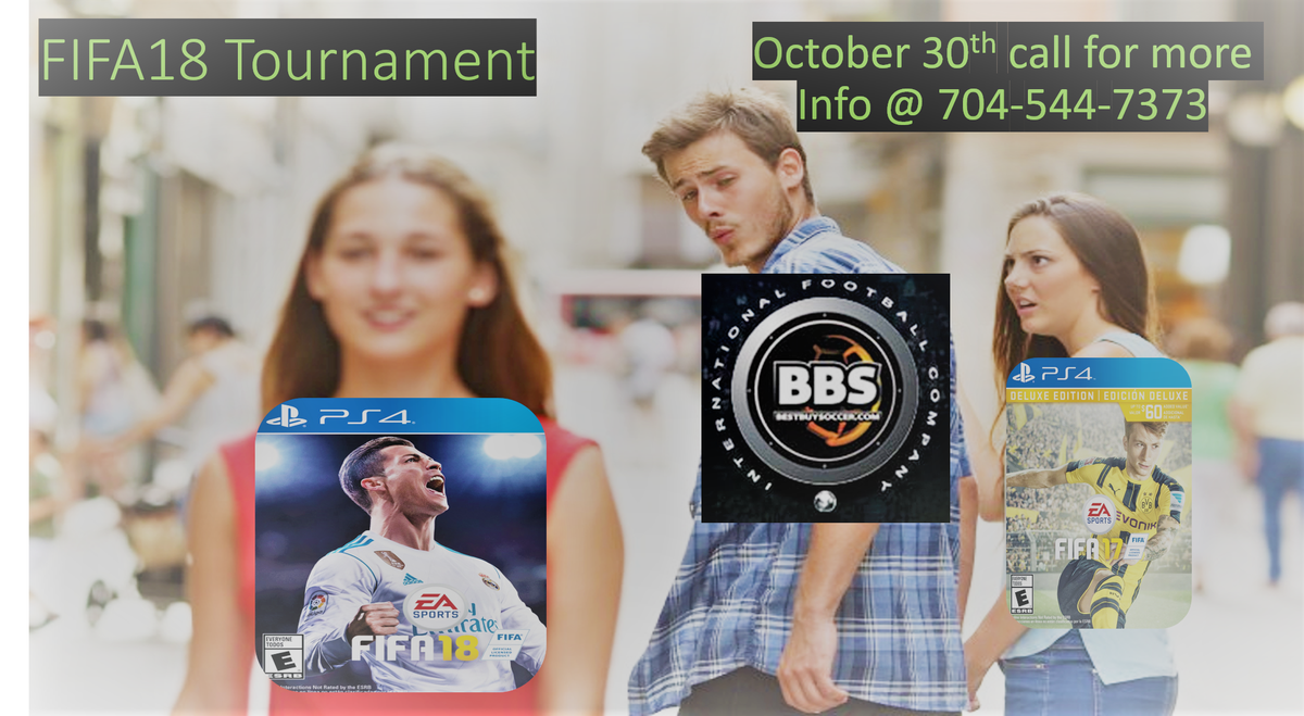 FIFA 18 TOURNAMENT ON OCTOBER 30TH. 16 PS4 GAMERS AND 16 XBOX ONE GAMERS. #fifa18 #mls #bestbuysoccer https://t.co/BAhlEAl8bW