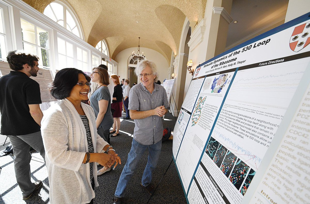 test Twitter Media - Students, Faculty Present Research at Annual Molecular Biophysics Program Retreat: https://t.co/IWyMh8cDFi #SciFri https://t.co/N3Js3eeeKo