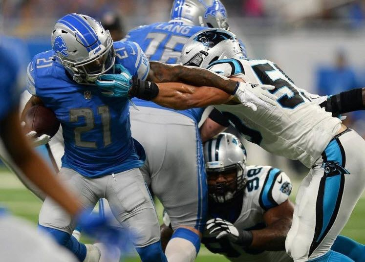 Panthers' Luke Kuechly fined $9,000 for face-mask penalty on Lio - | WBTV Charlotte