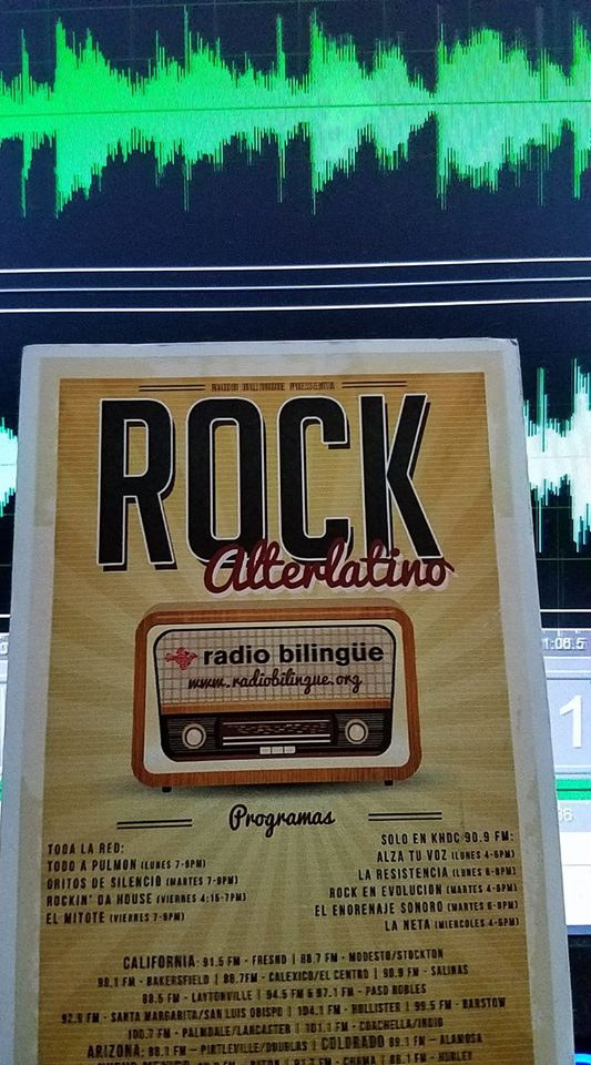 test Twitter Media - ROCKIN DA HOUSE, apoyando la escena de #RockAlterlatino #latinalternative en @radiobilingue latino public radio network cada viernes 4:15pm https://t.co/8lcXpyblXC