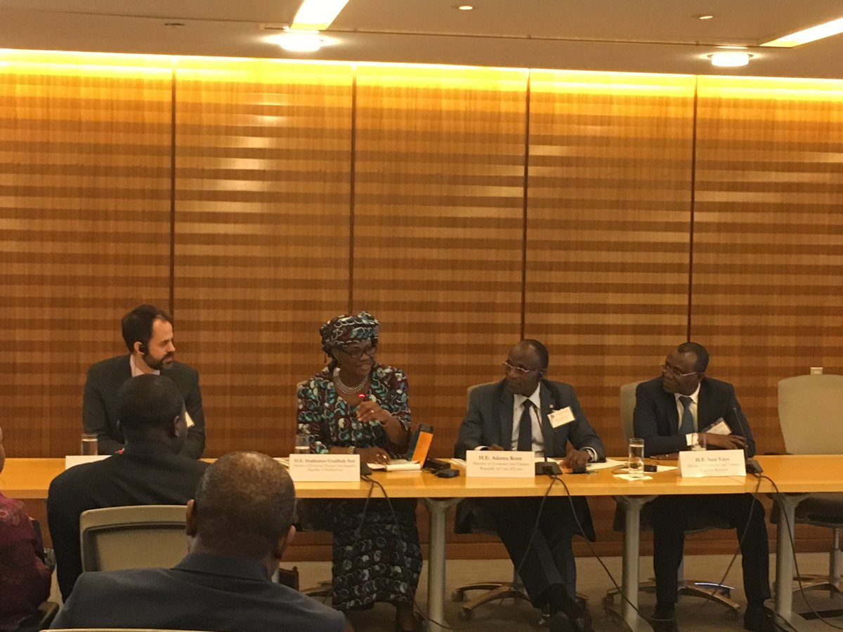 test Twitter Media - Panel 2: Strengthening Economic Integration & Maximizing Investments in Infrastructure. #investinAfrica #infrastructure #IMFMeetings https://t.co/xGiuZMxvVe