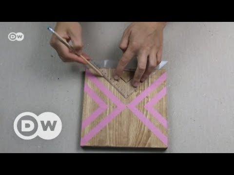 DIY: Untersetzer aus Holz | DW Deutsch