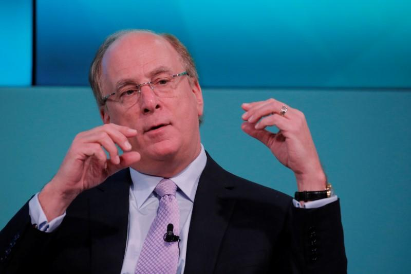 BlackRock's Fink warns global surprise could drive stock market correction