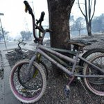 Pregnant Woman Biked Away From California Wildfire to Save Her Children