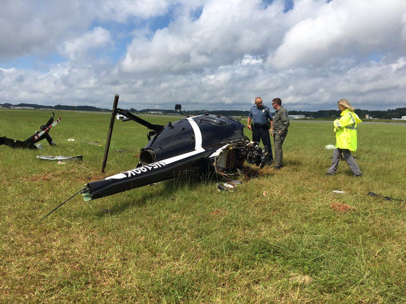 Police pilot felt 'strong wind gust' before helicopter crash, report says