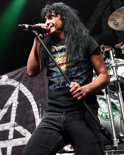 Happy 56th birthday to Joey Belladonna of Anthrax