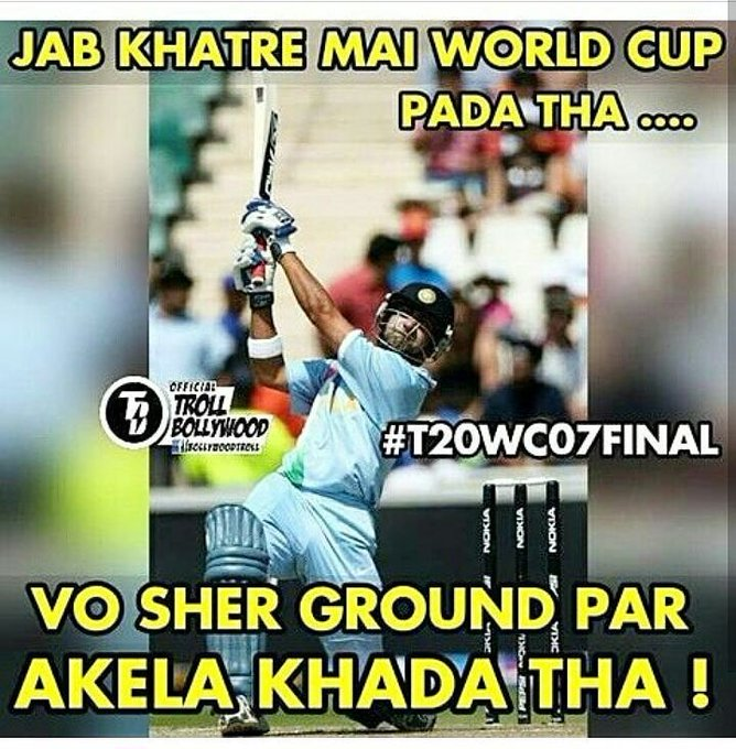 World Cup hero Happy Birthday Gautam Bhai.. Yaad Nahi To Jake 2007 Aur 2011 final match dekhlo..!! Gautam Gambhir