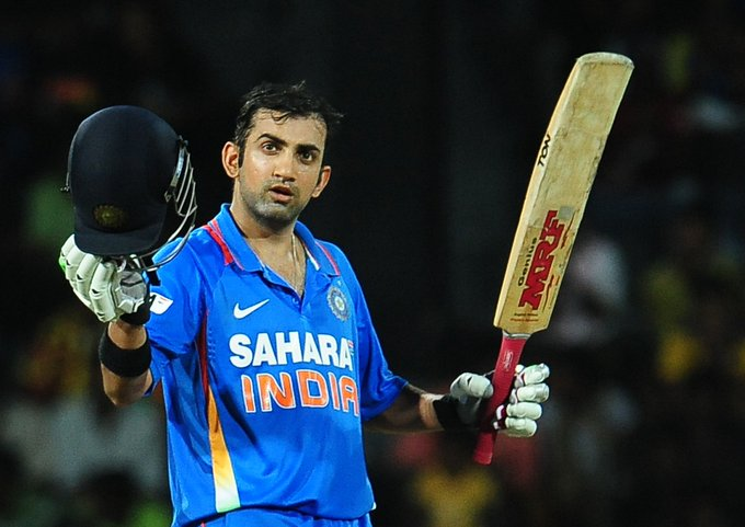 Happy birthday gautam gambhir have a good day