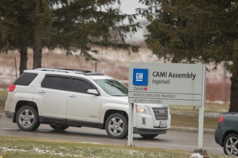 General Motors reaches tentative deal with striking Canada workers