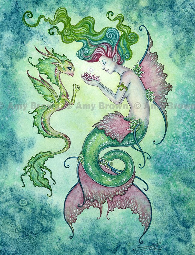 test Twitter Media - #Mermaid and friend (By Amy Brown Designs) #EllenRothAuthor https://t.co/FTGr2JND1G