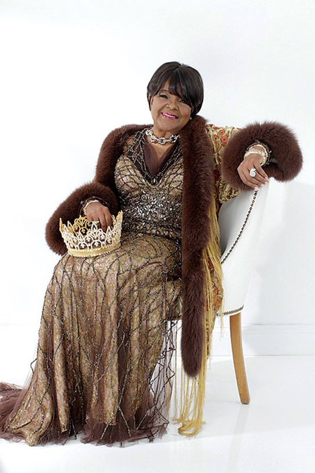 Happy birthday     Pastor Shirley Caesar. May God bless you many more years to come.