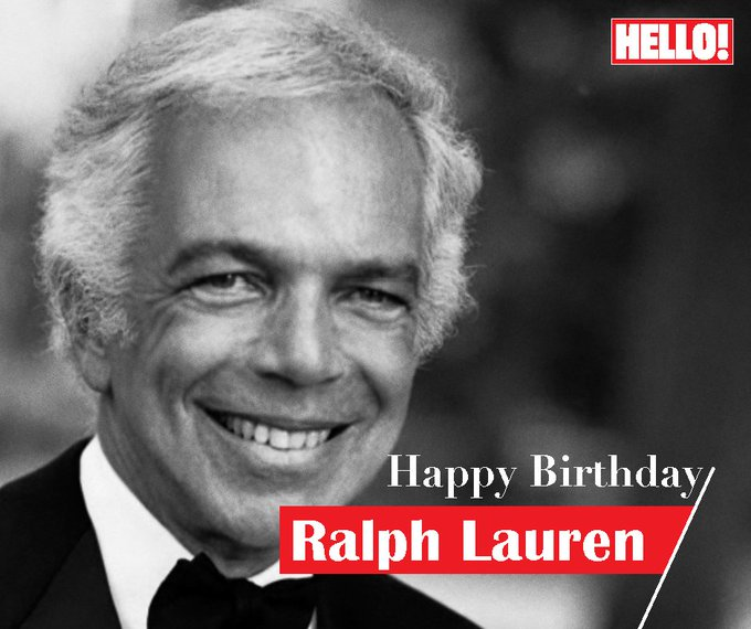 HELLO! wishes Ralph Lauren a very Happy Birthday
