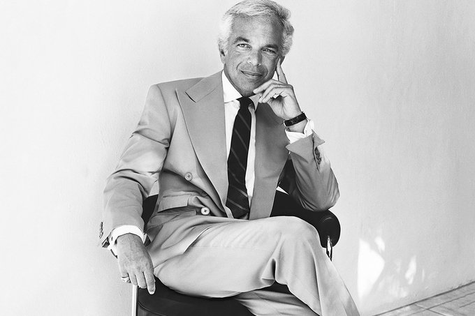 October 14, 1939   Ralph Lauren Happy Birthday!