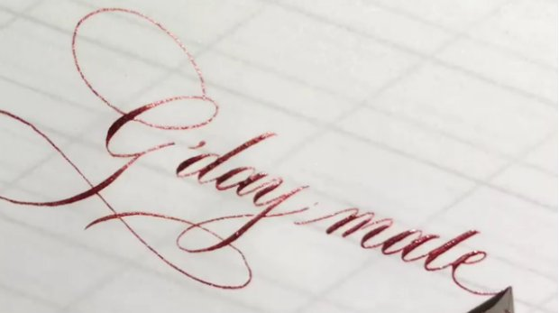 Ink again: The antiquated skill of calligraphy is a huge hit on social media
