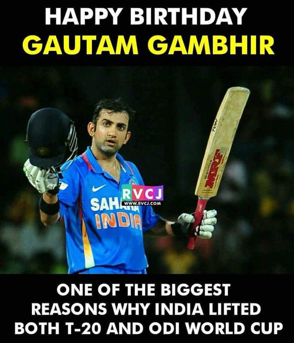 Happy birthday boss gambhir