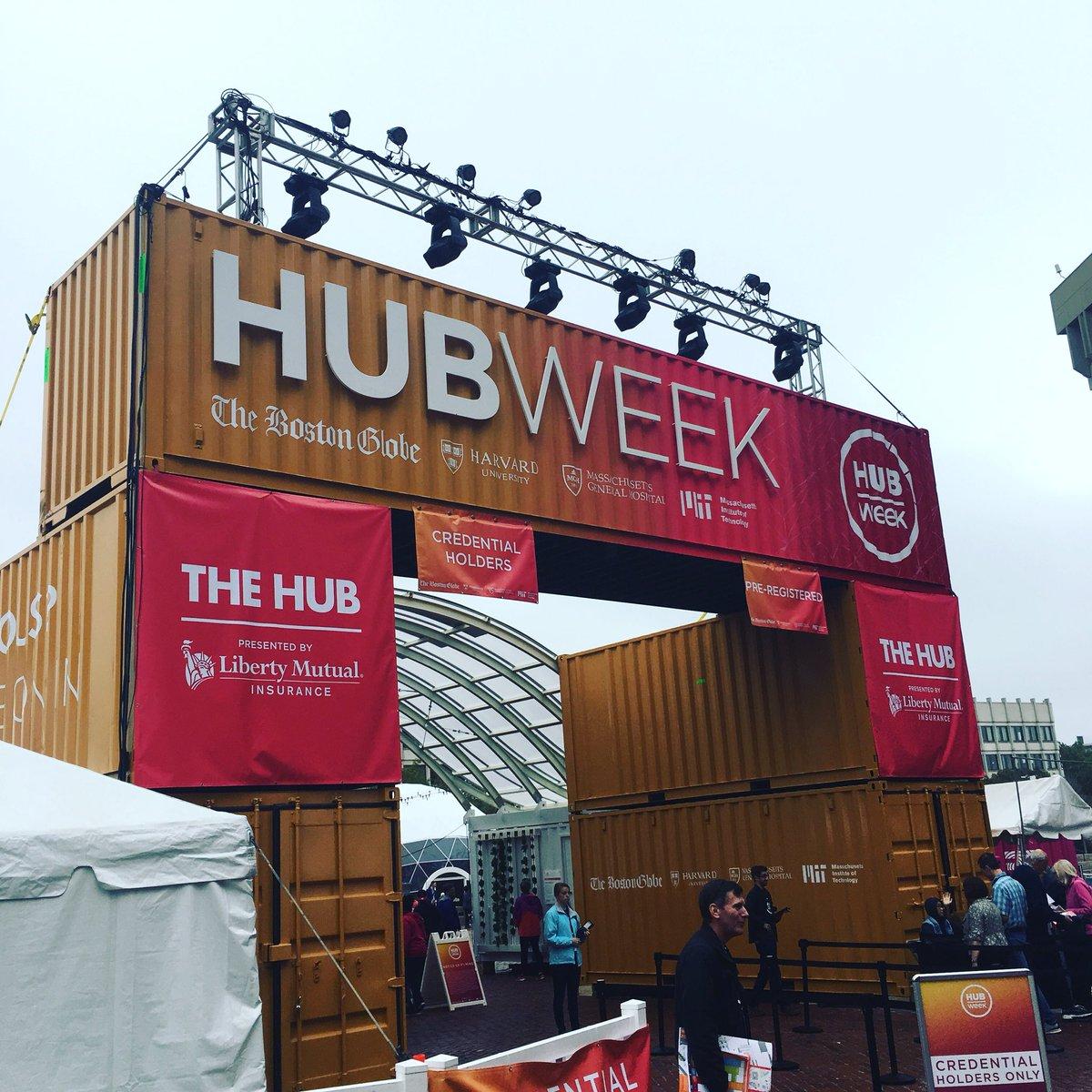 #HUBweek