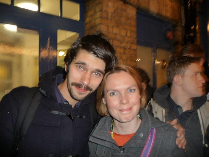Happy Birthday Ben Whishaw! I\m sure he treasure this memory as much as I do.