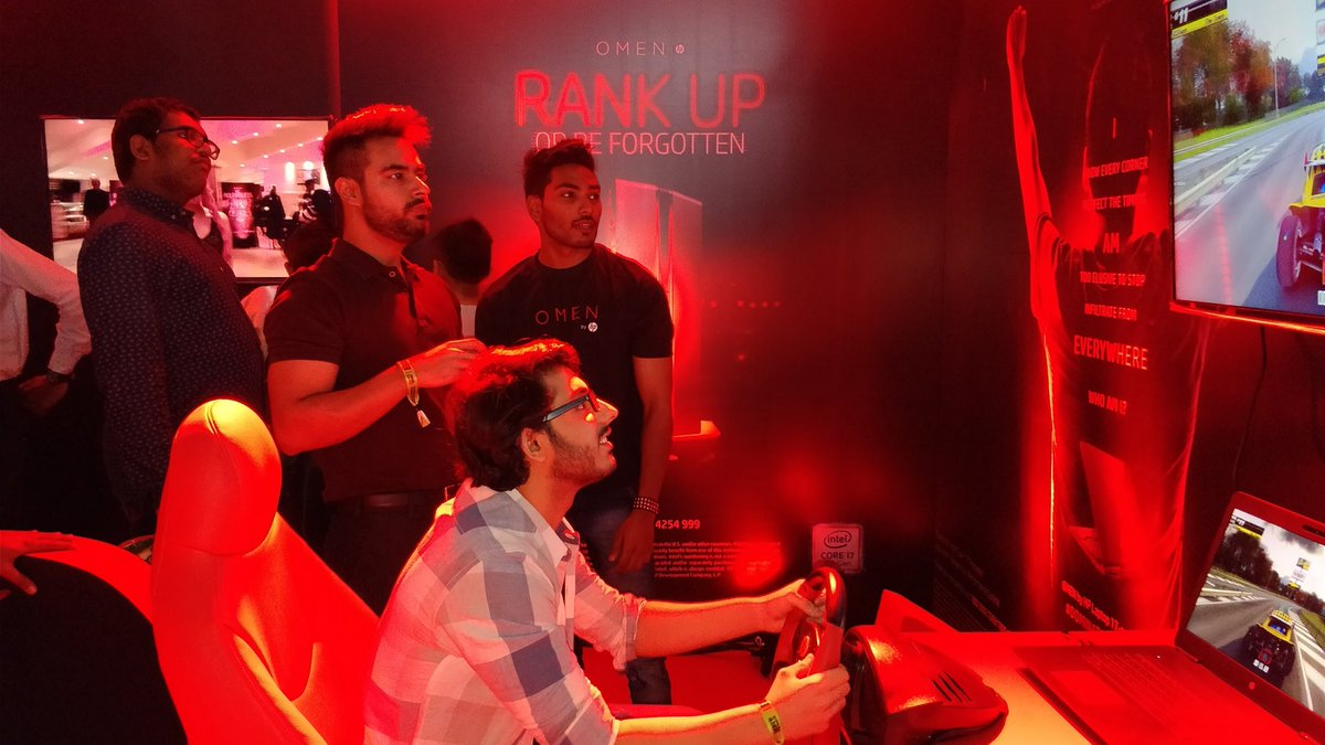 Rank Up Or Be Forgotten It s CarryMinati at the Omen by HP ESL Finale DominateTheGame https t.co l6RhbuDSBJ