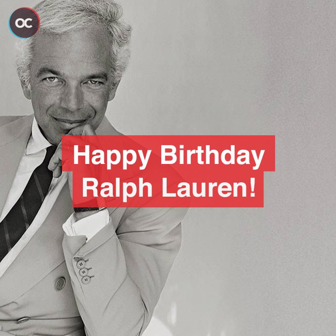 Happy Birthday Ralph Lauren!