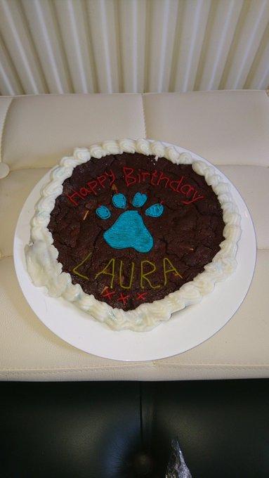 My bestie knows me too :) Choccie chip cookie cake :P Happy birthday xxx