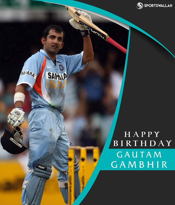 Happy Birthday, Gautam Gambhir, the unsung hero of Indian cricket!