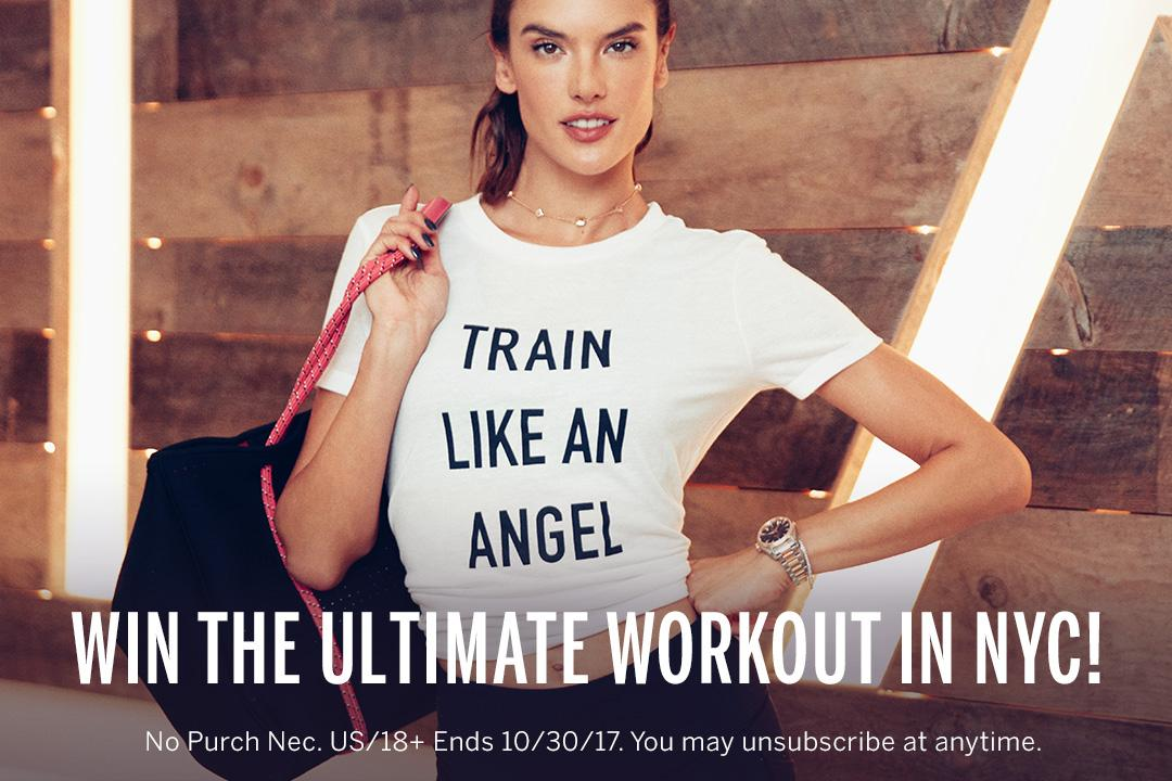 You CAN have it all! Enter for the chance to #TrainLikeAnAngel in NYC: https://t.co/bNhBiuro2C https://t.co/ZDxUvAuMp0