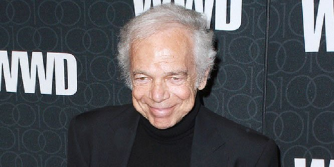 Ralph Lauren celebrates his 78th today. Happy Birthday!