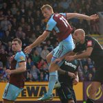 Chris Wood scores in clash of the Kiwis as Burnley draws with West Ham