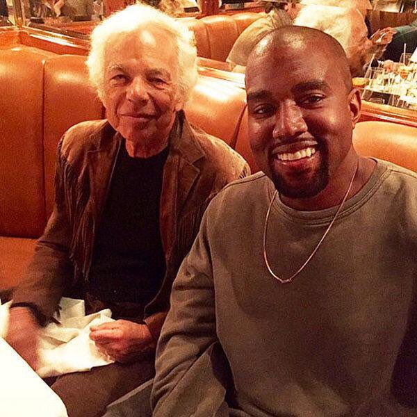 Happy Birthday Ralph Lauren (left)