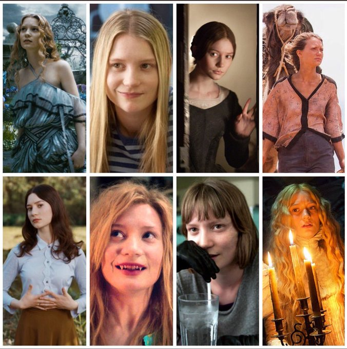 Happy birthday to Mia Wasikowska (b.1989)! Which of her performances is your favourite?