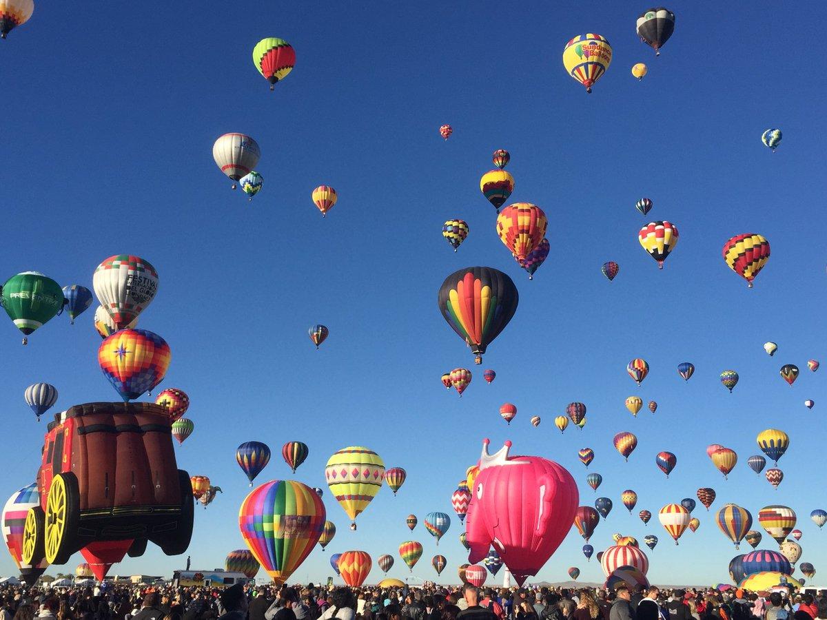 #BalloonFiesta2017