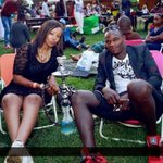 Life has humbled him! Look at DENNIS OLIECH eating in a kibanda (PHOTO).