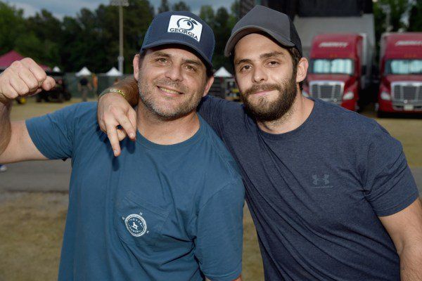 Thomas Rhett Wishes Dad Rhett Akins Happy Birthday With Adorable Throwback Photo