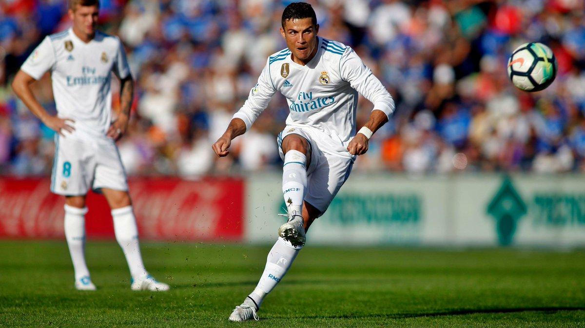La Liga: Cristiano Ronaldo's late goal rescues Real Madrid at Getafe