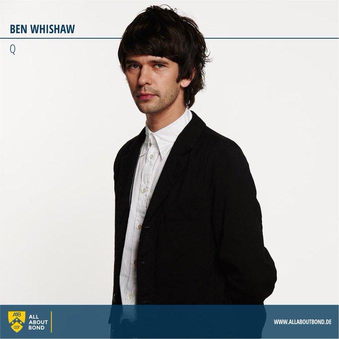 Happy Birthday Q  Ben Whishaw feiert heute seinen 37. Geburtstag!