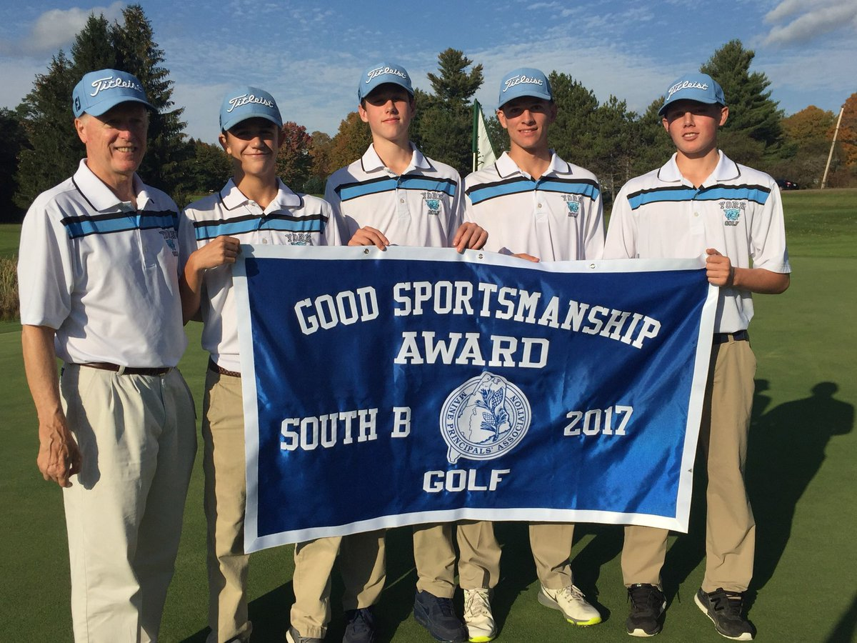 test Twitter Media - A well deserved Sportsmanship Banner for York Golf 🏌️ Thanks for representing YHS so positively this season!+Tyler R finished 16th in State! https://t.co/a1t6BdTO7j