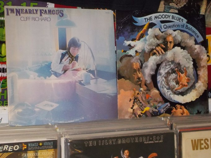 Happy Birthday to Cliff Richard & Justin Hayward of the Moody Blues