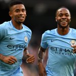 Manchester City rout Stoke City in English Premier League, while Chelsea stunned