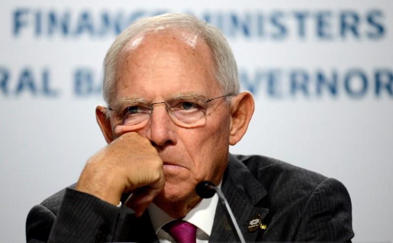 On trip to U.S., Germany's Schaeuble warns against protectionism