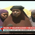 Tana River county has high number early marriages