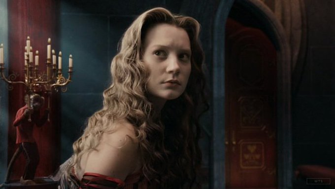 New happy birthday shot What movie is it? 5 min to answer! (5 points) [Mia Wasikowska, 28]