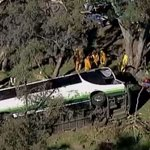 Victorian bowlers 'traumatised' after fatal bus rollover north-west of Ballarat