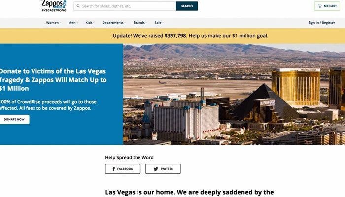 Online retailer offers to pay for funerals of Vegas shooting vic - | WBTV Charlotte