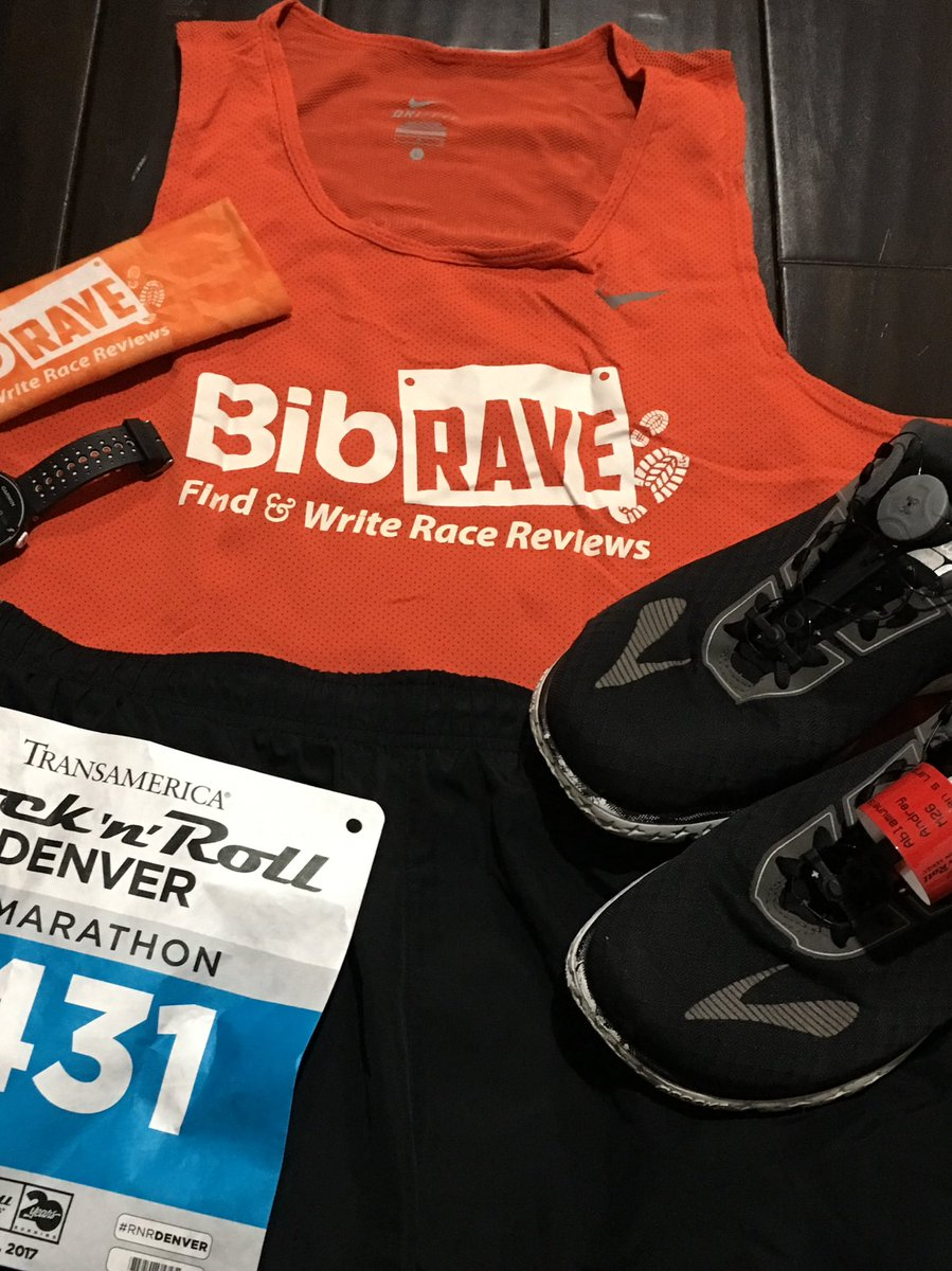 Ready to take on the #rnrdenver course! Here we go #bibchat https://t.co/wlrmhF9eUw