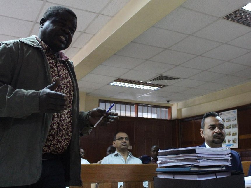 Businessman denies Sh500m land fraud charge, forging title