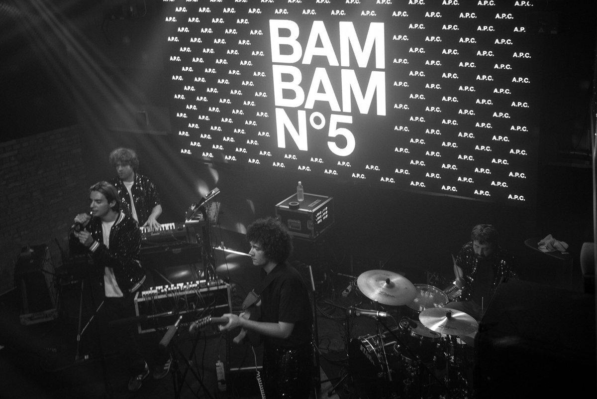 #APC BAM BAM N°5 in Tokyo  写真:@casinodeparis  #Paradis #Metronomy #InoHidefumi #AshleyYuka https://t.co/Hzv0jPIFsU